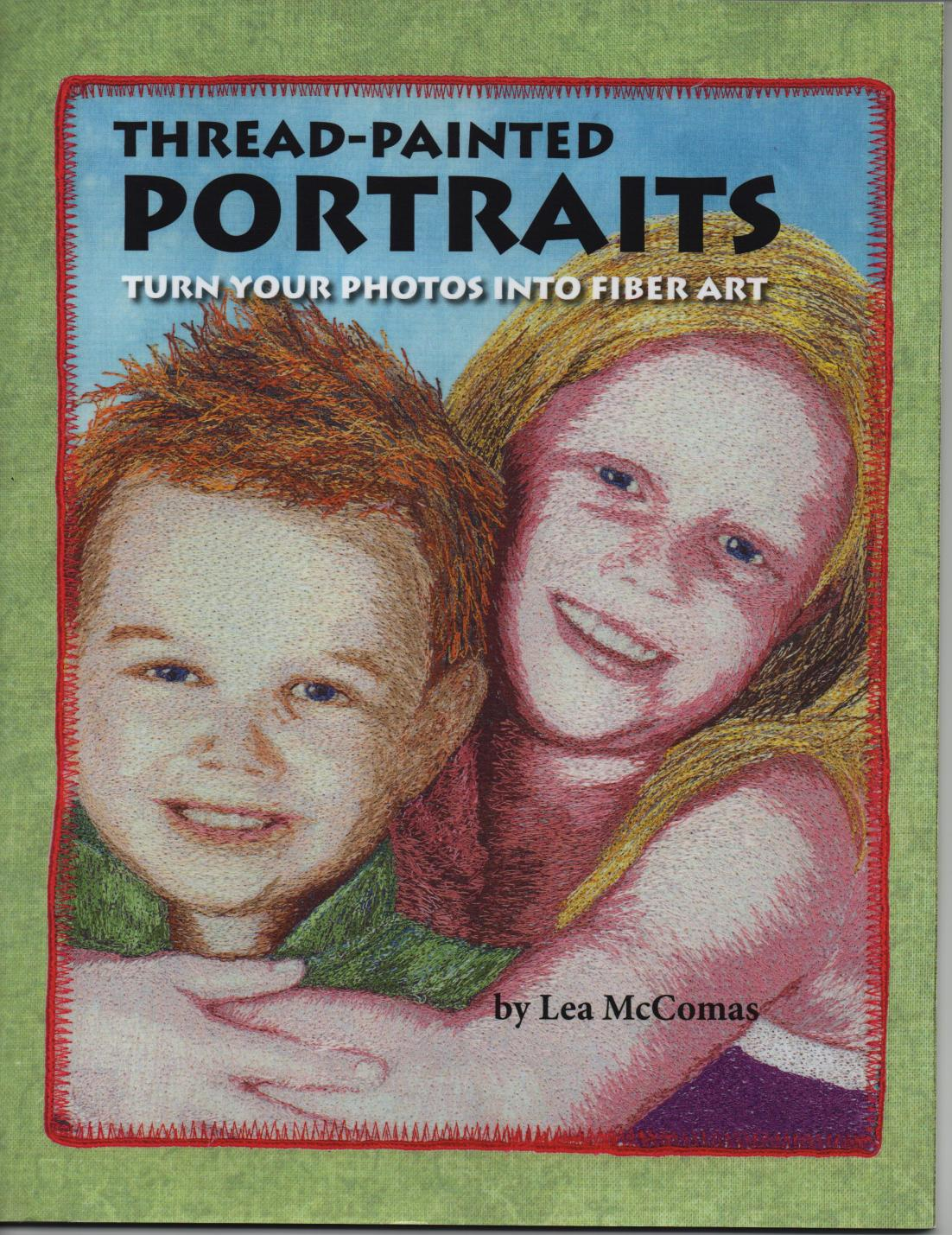 Thread Painted Portrait Cover 001