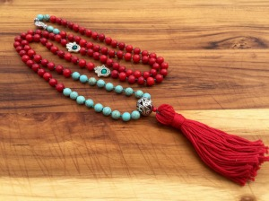 Meditation necklace from Boho Berry